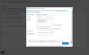 Contact Form 7 – Come inviare mail a destinatari diversi